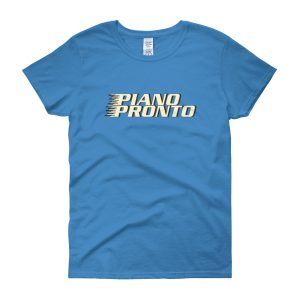 Piano Pronto Logo Women's Short Sleeve T-Shirt