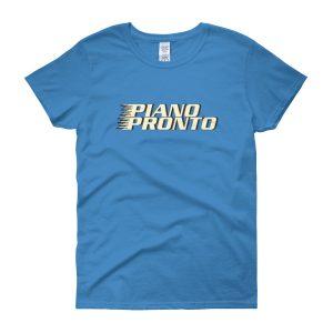 Piano Pronto Logo Women's Short Sleeve T-Shirt