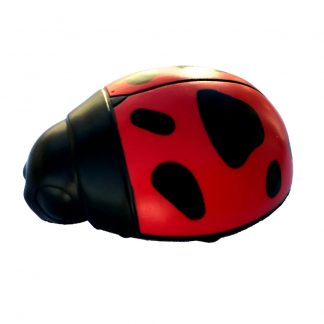 Ladybug squeeze ball for proper piano hand position