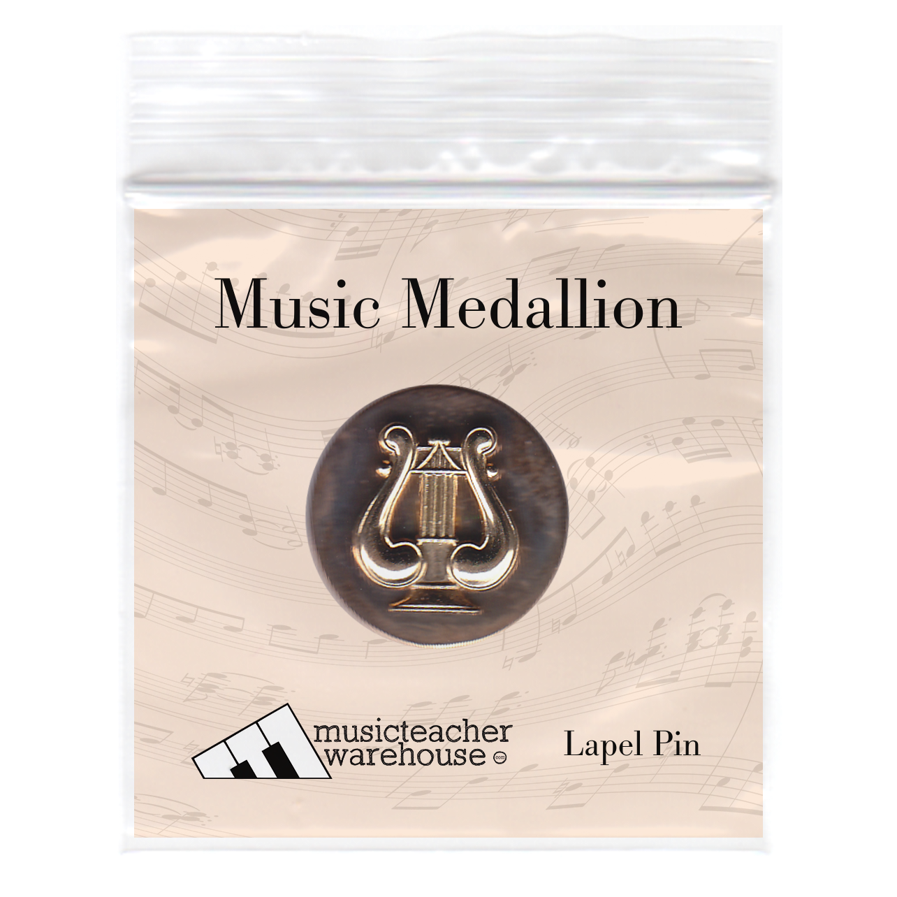 Music Medallion Army Musician