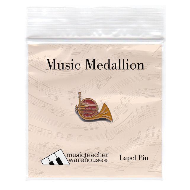 Music Medallion U2013 French Horn